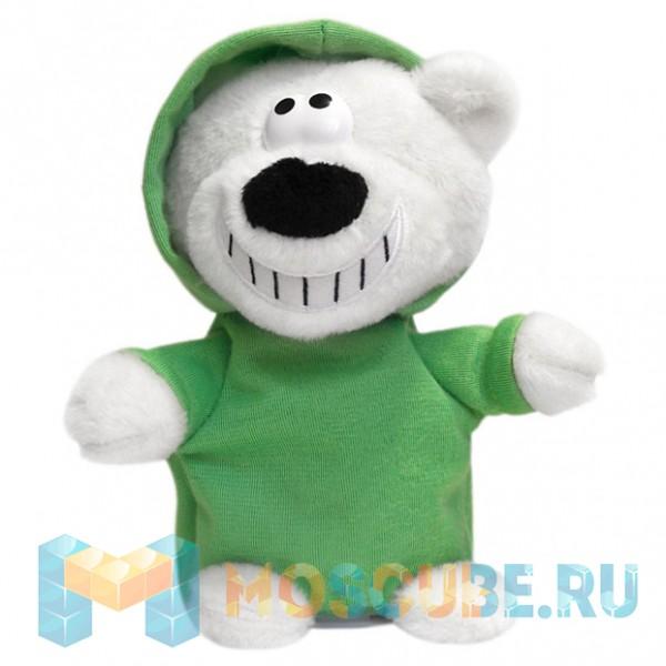 Интерактивная игрушка Woody O'Time Говорящий Медведь Диджей Зеленый