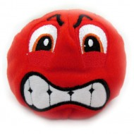 Плюшевый Смайл (красный)
