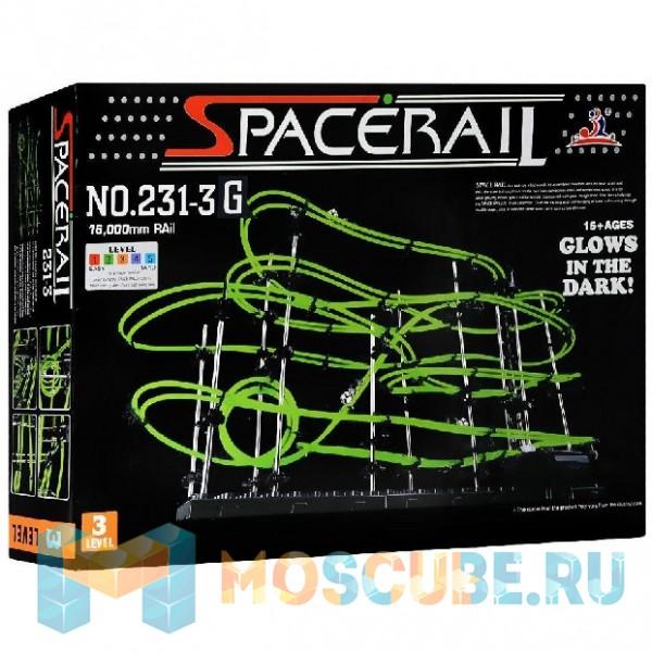Конструктор Aojie Космические горки SpaceRail 3 (231-3 Glow)